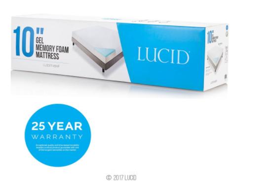 lucid mattress review