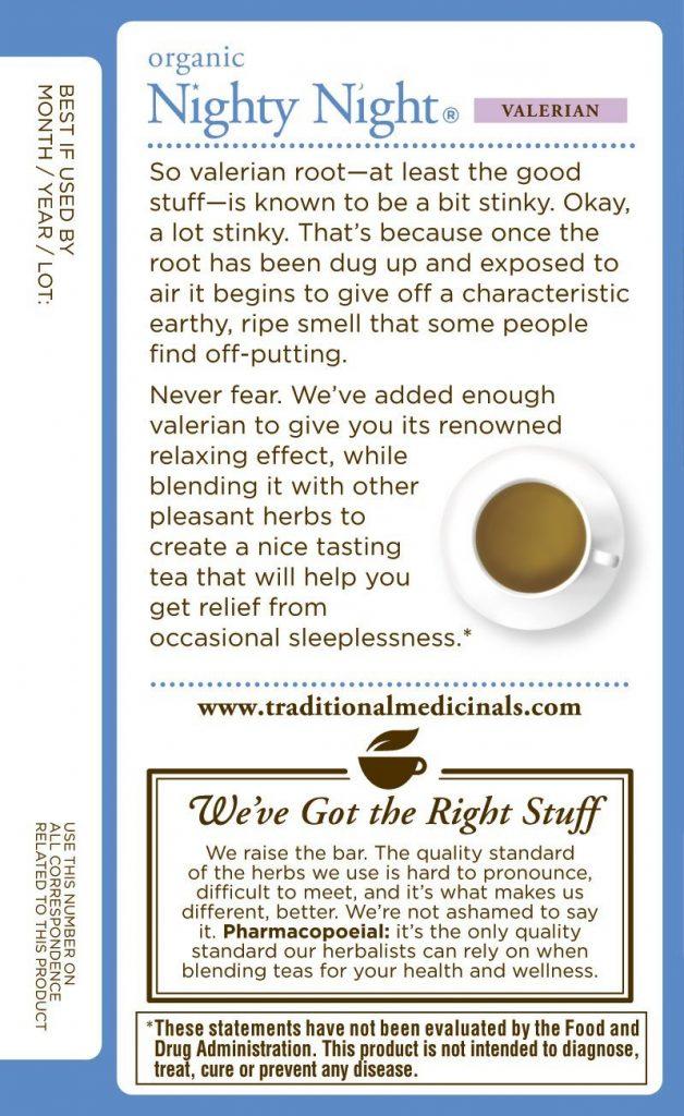 nighty night tea review